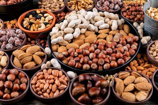 frutta secca varia
